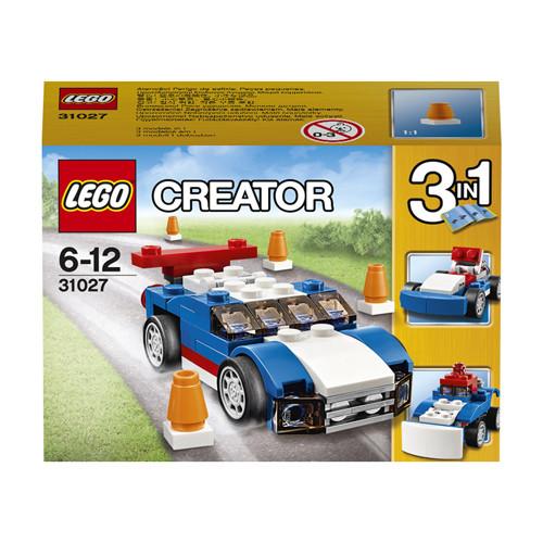 31027 Lego Creator Синий гоночный автомобиль, Лего Креатор