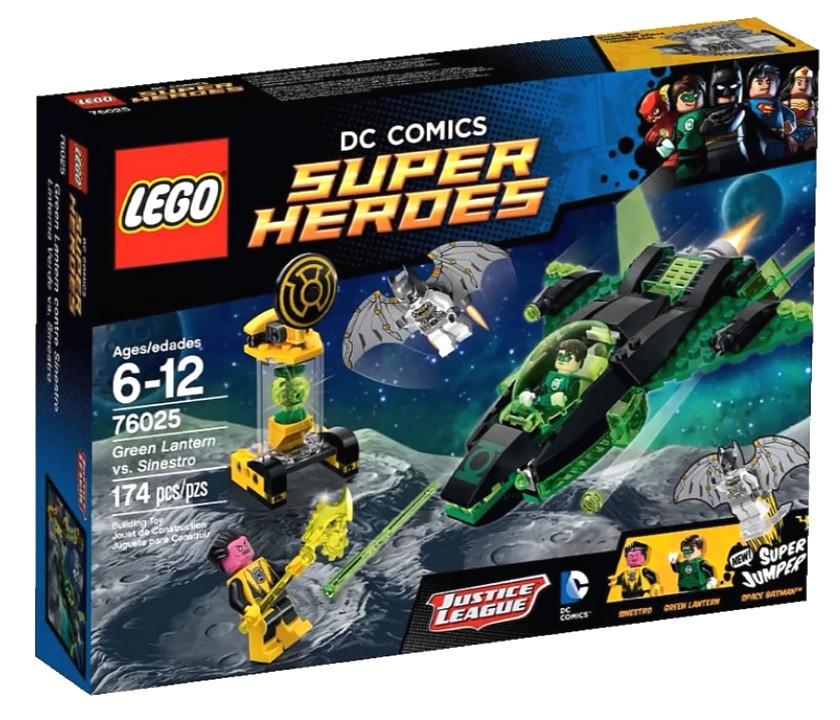 76025 Lego Super Heroes Зеленый Фонарь™ против Синестро™, Лего Супергерои DC