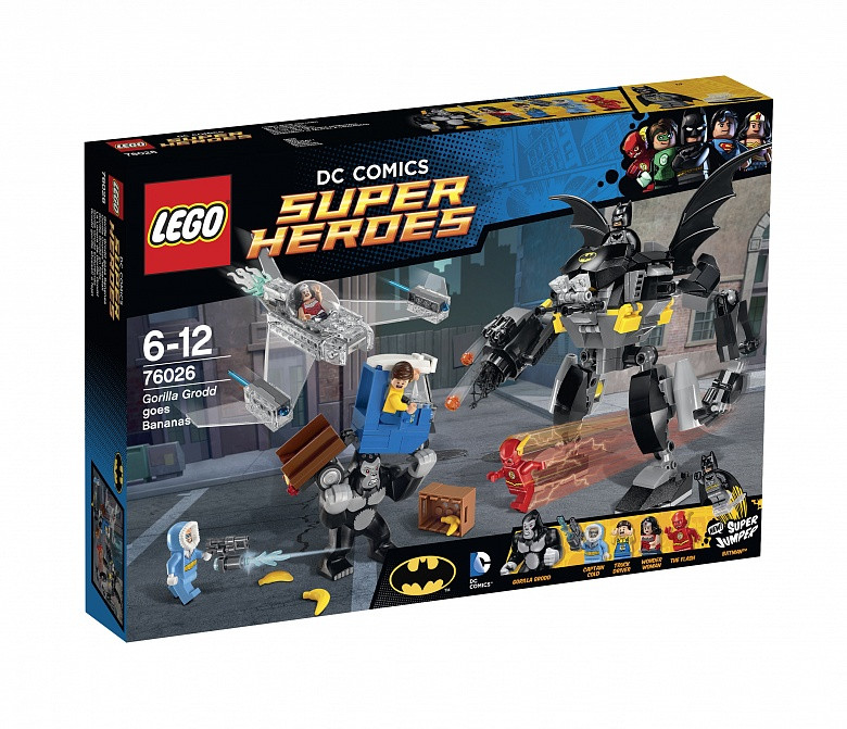 76026 Lego Super Heroes Горилла Гродд сходит с ума™, Лего Супергерои DC