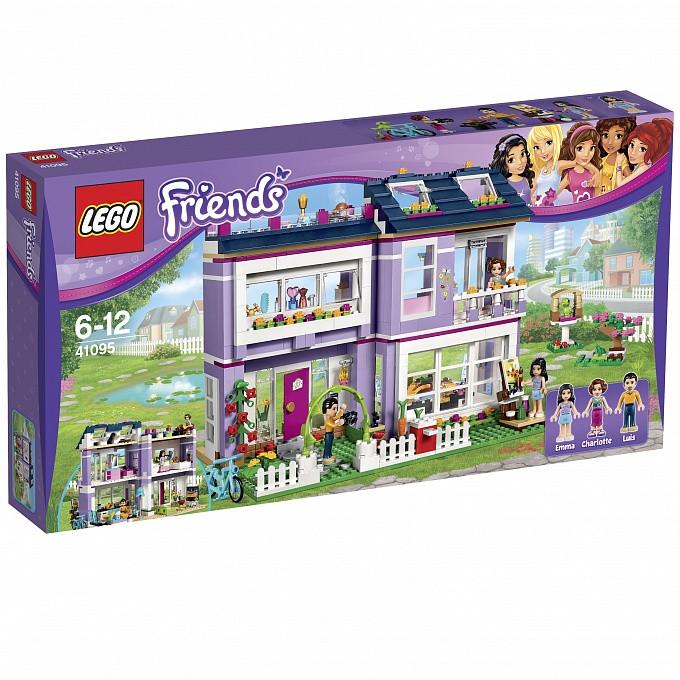 41095 Lego Friends Дом Эммы, Лего Подружки