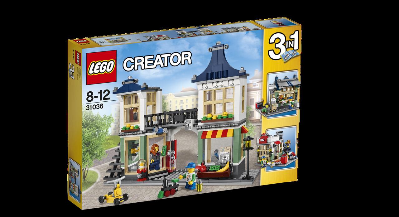 31036 Lego Creator Магазин по продаже игрушек и продуктов, Лего Креатор