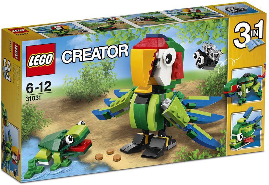 31031 Lego Creator Животные джунглей, Лего Креатор