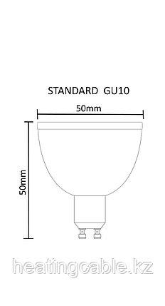 GU 10 3х1 тепл., фото 2