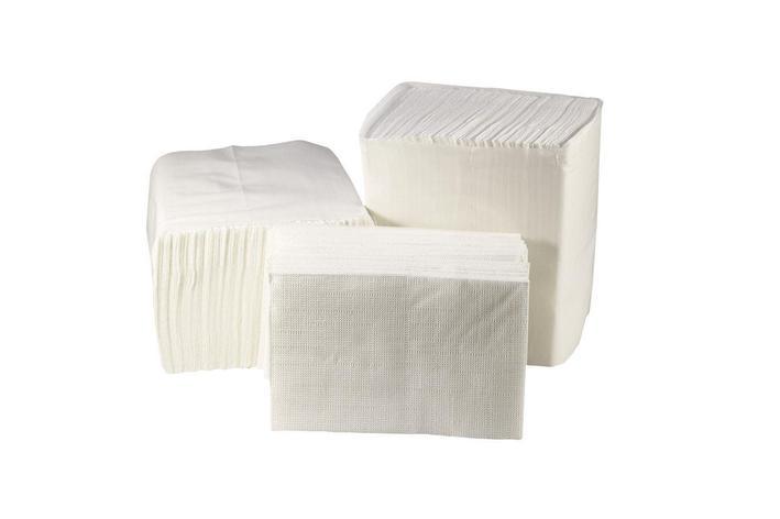Бумажные салфетки в пачках для настольного диспенсера, фото 2
