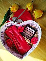 """Beauty подарок для девушек """"Роскошный красный"""", фото 1"""