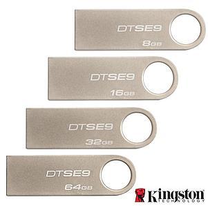 Флешка USB-накопитель Kingston 16GB DTSE9