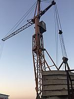 Башенный кран в Алматы