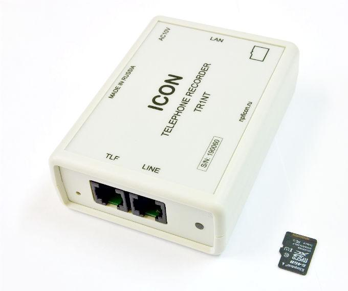 ICON TR1NT Устройство записи телефонных разговоров