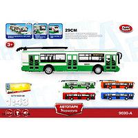Игрушечный троллейбус со звуком и светом 29см - Play Smart