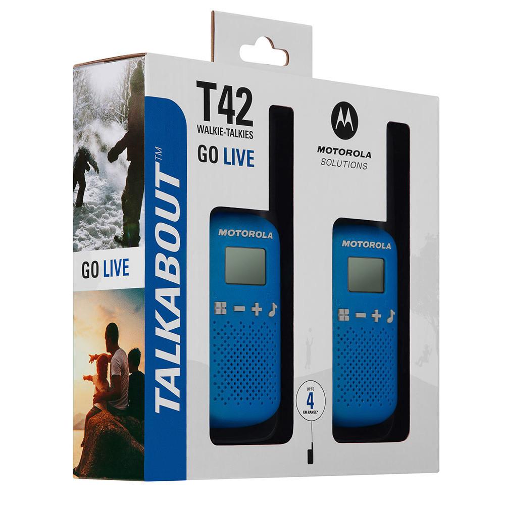Motorola Портативные Радиостанции Talkabout T42 Синие (пара)