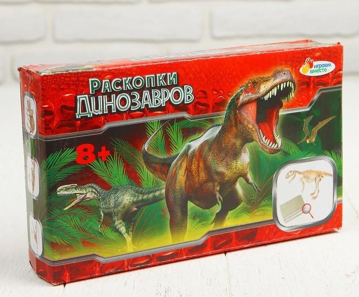 """IV. Набор палеонтолога 666-101-RU """"Раскопки. Динозавры"""""""