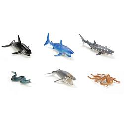 """IV. Набор из 6-и фигурок """"Морские животные"""""""