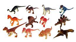 """IV. Набор фигурок """"Динозавры"""" (12 шт.) P9703-12"""