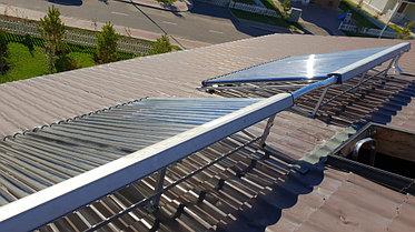 Солнечная водонагревательная станция, Family Village, г. Астана 3