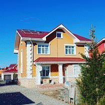 Солнечная водонагревательная станция, Garden Village, г. Астана 5