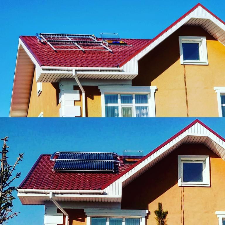 Солнечная водонагревательная станция, Garden Village, г. Астана