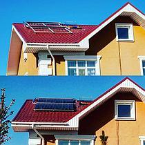 Солнечная водонагревательная станция, Garden Village, г. Астана 1