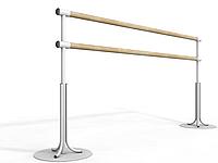 Балетный напольный двухрядный станок 1м, фото 1
