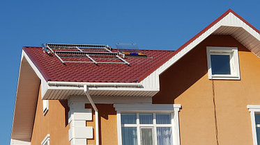 Солнечная водонагревательная станция, Garden Village, г. Астана 8