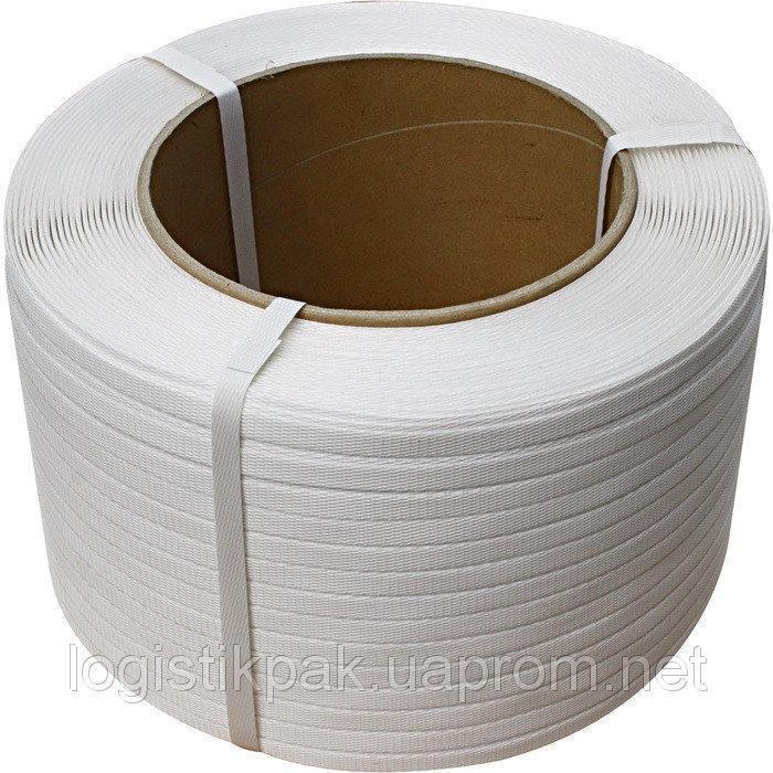 Лента упаковочная полипропиленовая 19мм*1,0мм*1000м