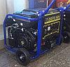 Бензиновый генератор 6кВт 220В электростартер Mateus 6,0 GFE-WH