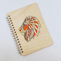 Изготовление обложки для ежедневников деревянные с лого