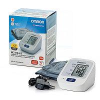 Тонометр OMRON M2 BASIC (ARU) (манжета 22-32 см, адаптер)