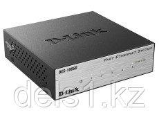 Неуправляемый коммутатор  D-link DES-1005D