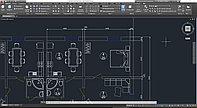 Разработка чертежей в программе AutoCAD (DWG)