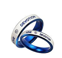 """Парные кольца для влюбленных """"Devotion love"""", фото 1"""