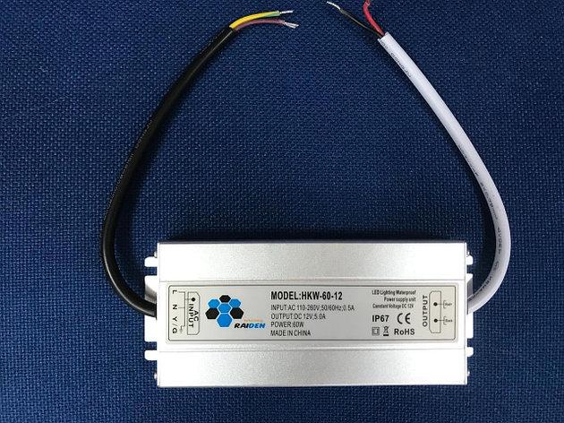 Трансформатор REIDEN 60W уличный ультратонкий, фото 2