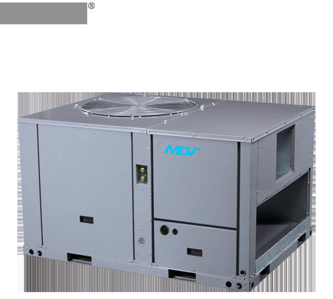 Кондиционер крышный MDV: MDRC-125HWN1 (44/45 кВт)