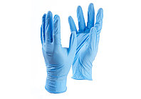 Перчатки нитриловые синие 100шт в коробке (50пар)
