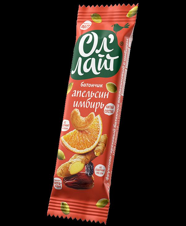 Батончик Ол'Лайт® Апельсин & Имбирь