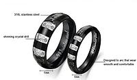 """Парные кольца для влюбленных """"Наше счастье"""", фото 1"""