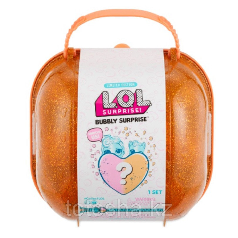 L.O.L. Bubbly Surprise Шипучий сюрприз (оранжевый)