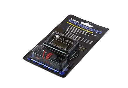 Тахометр универсальный со счетчиком моточасов и индикацией межсервисного интервала.Производитель Runleader , фото 2