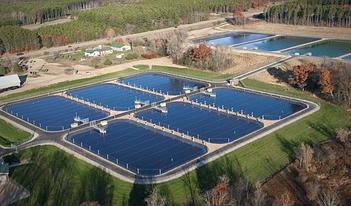 Гидроизоляция водоема для разведения рыбы