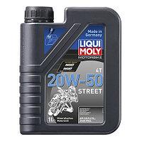 Мотоциклетное масло Liqui Moly MOTO 4T 20W-50 1500 1литр