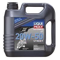1696 Мотоциклетное масло Liqui Moly MOTO 4T 20W-50 4литра