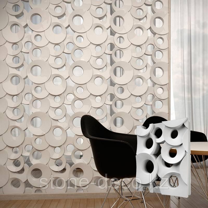 "Декоративные перегородки 3D Блоки ""Кольца"""