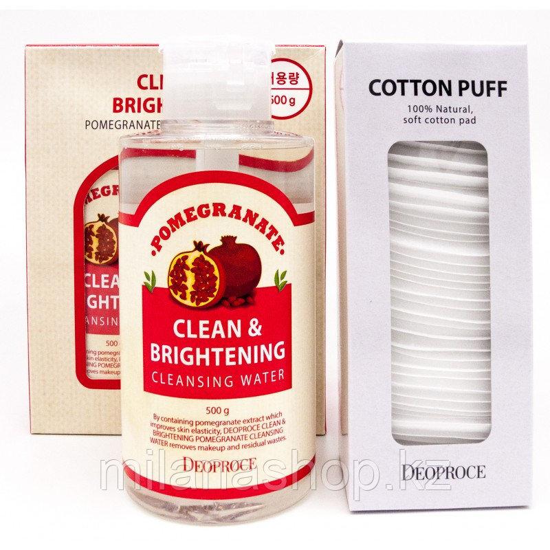 Deoproce Clean And Brightening Pomegranate - Вода очищающая с экстрактом граната