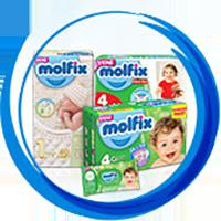 Детские Подгузники и Трусики MOLFIX