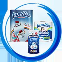 Бумажная продукция FAMILIA