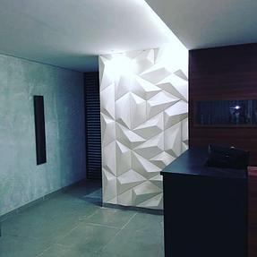 3D панели в интерьере 12