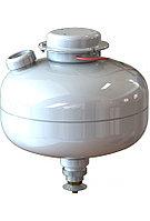 МУПТВ(С)-13,5-ГЗ-Ж-02(01)-02 модуль пожаротушения тонкораспыленной водой, высота установки от 4 до 6 м.