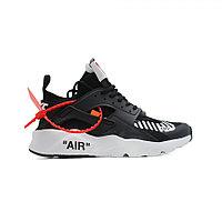 Мужские кроссовки Nike Air Huarache Ultra x OFF White Black