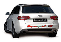 Выхлопная система Supersprint на Audi A4 B8