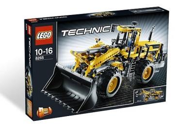 8265 Lego Technic Экскаватор с передним ковшом, Лего Техник