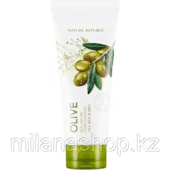 Nature Republic Real Nature Foam Cleanser - Пенка для умывания Nature